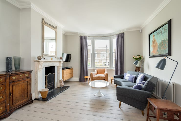 Broadhinton Road:  Living room by Will Eckersley