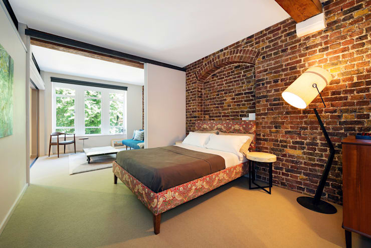 Oliver's Wharf:  Bedroom by Will Eckersley