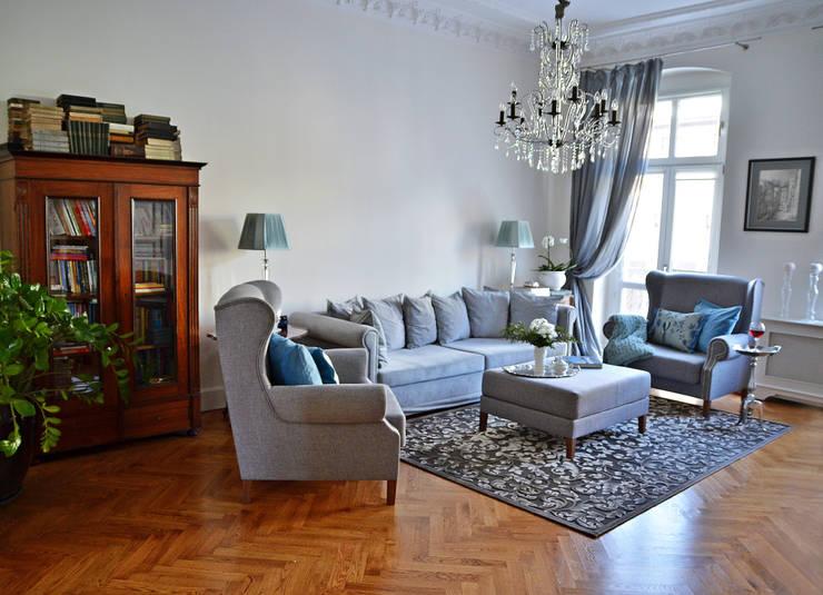 Metamorfoza salonu: styl , w kategorii  zaprojektowany przez Decolatorium