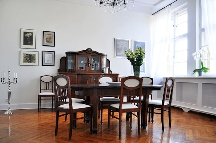 Metamorfoza salonu i jadalni : styl , w kategorii  zaprojektowany przez Decolatorium