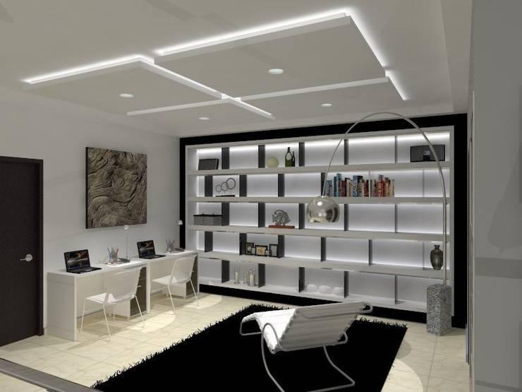 VALLE DE LAS PALMAS: Estudios y oficinas de estilo  por AurEa 34 -Arquitectura tu Espacio-
