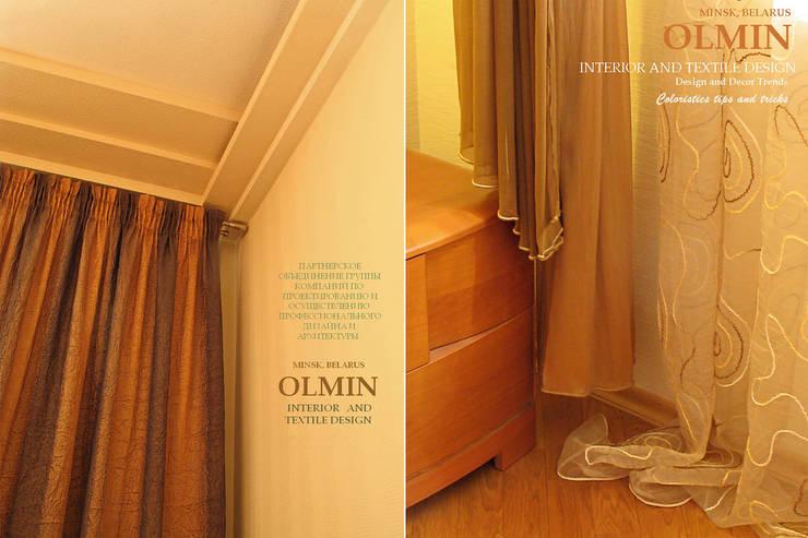 Текстиль в Интерьере: Стены и пол в . Автор – ИП OLMIN - Архитектурная студия Олега Минакова