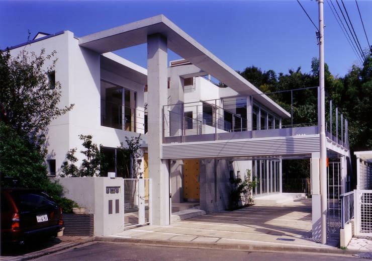 外観: 豊田空間デザイン室 一級建築士事務所が手掛けた家です。