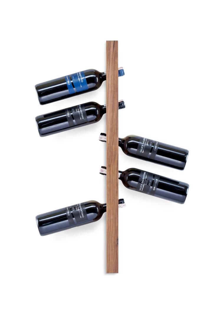 model A - orzech: styl , w kategorii  zaprojektowany przez TU LAS,Minimalistyczny