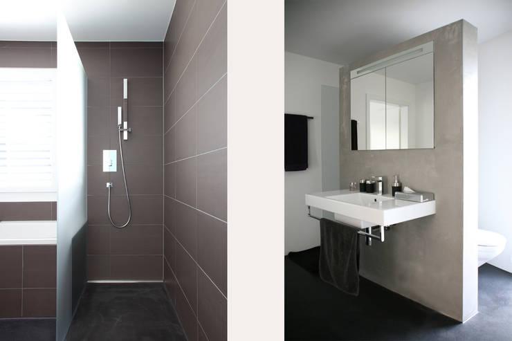 Bagno in stile in stile Moderno di skizzenROLLE