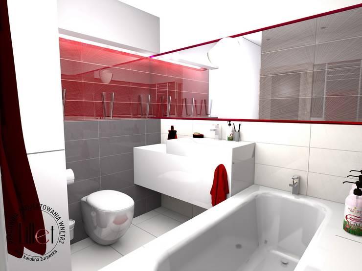 Bathroom by ATELIER LILLET Karolina Lewandowska,