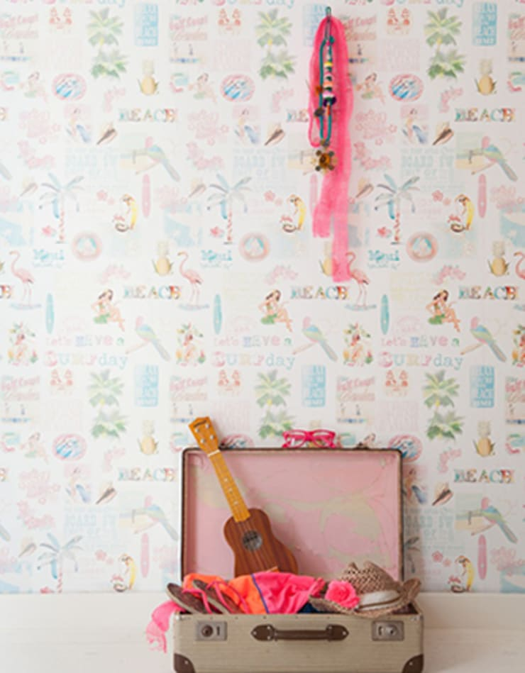 Field of Flowers Wallpaper Collection:  Walls & flooring by Paper Moon