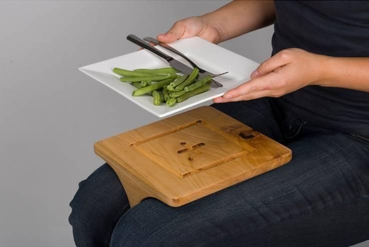 Schootbord: moderne Keuken door Phebe Lilian