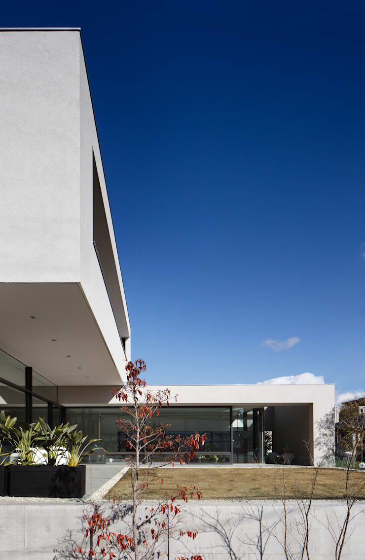 S residence: 山崎壮一建築設計事務所が手掛けた家です。,
