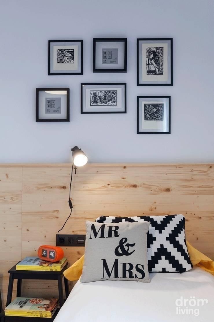 غرفة نوم تنفيذ Dröm Living, إسكندينافي