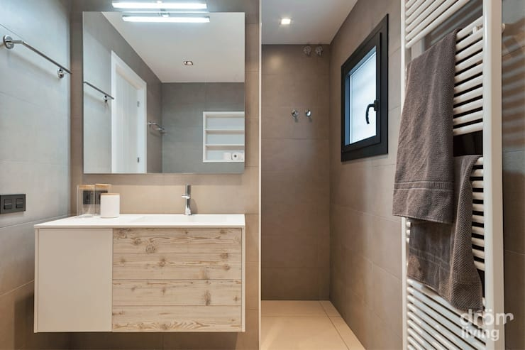 Salle de bains de style  par Dröm Living, Scandinave
