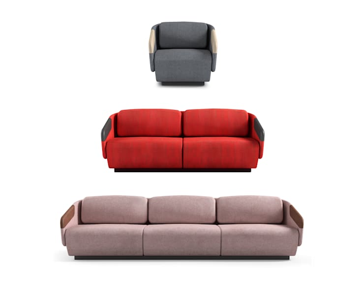 WORN collection for Casamania:  Living room by Samuel Wilkinson studio