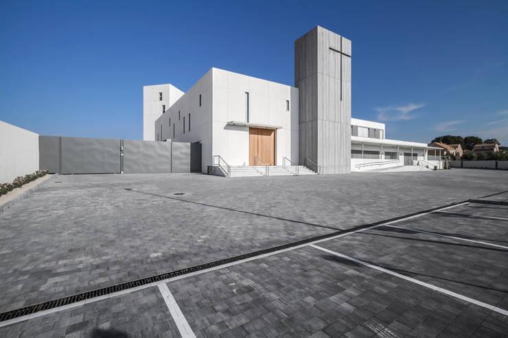 Projekty,  Domy zaprojektowane przez Hernández Arquitectos