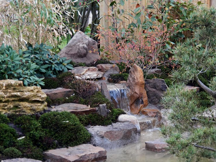 Jardines de estilo  por japan-garten-kultur