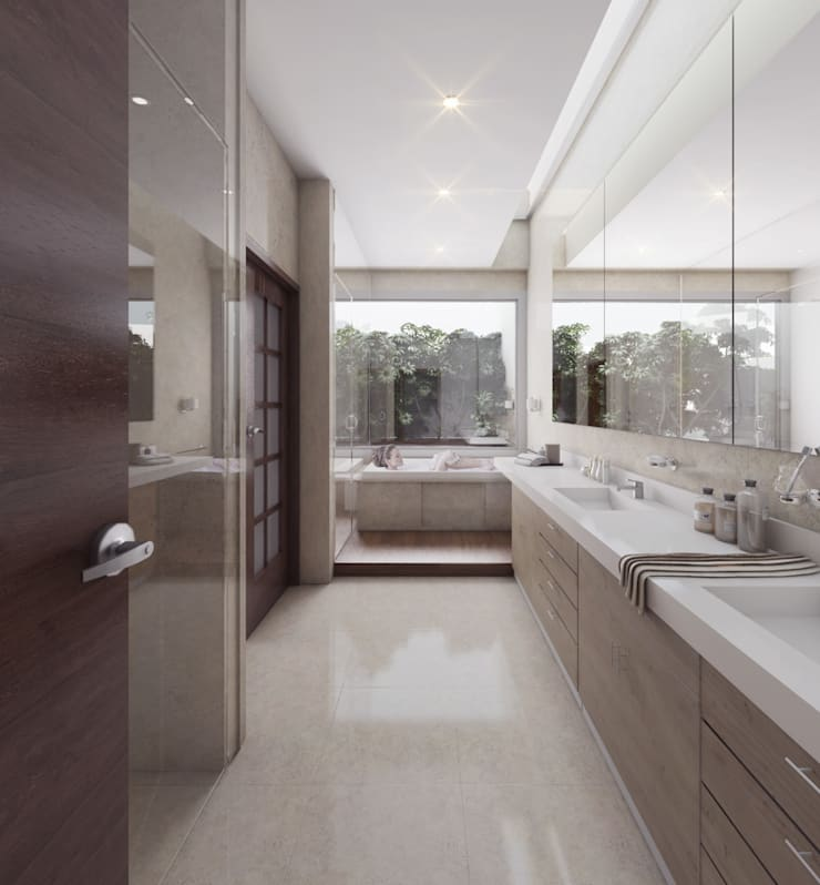 Bathroom by Pure Design, Modern