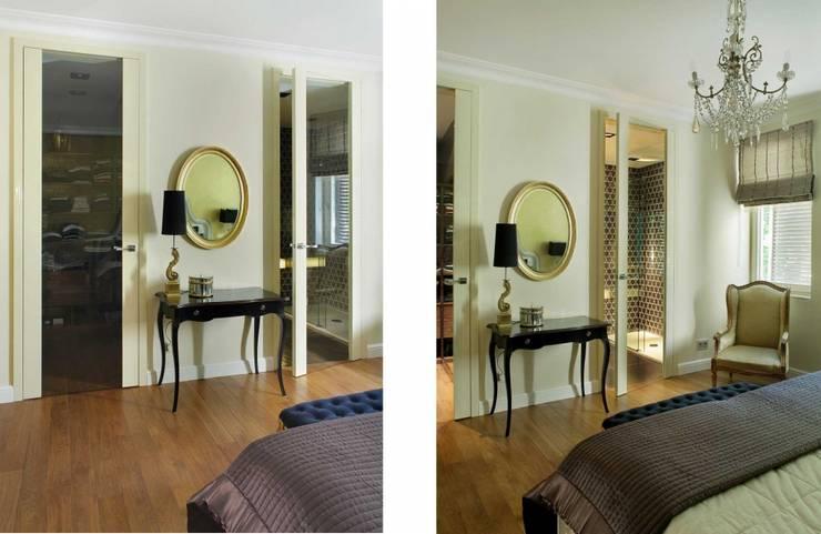 SASKA KĘPA: styl , w kategorii Sypialnia zaprojektowany przez INSPACE