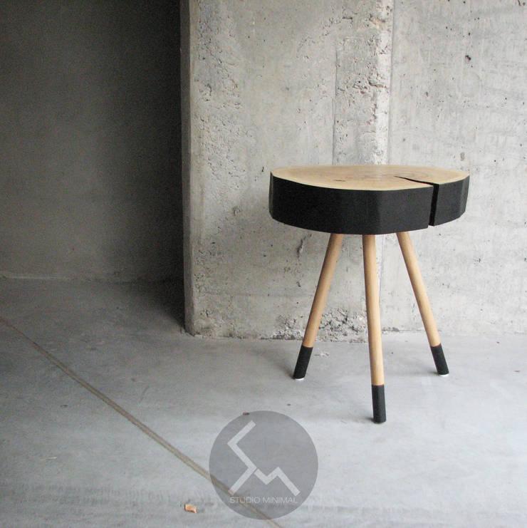 Stolik No.2 Pacman: styl , w kategorii  zaprojektowany przez Studio Minimal Meble,Skandynawski