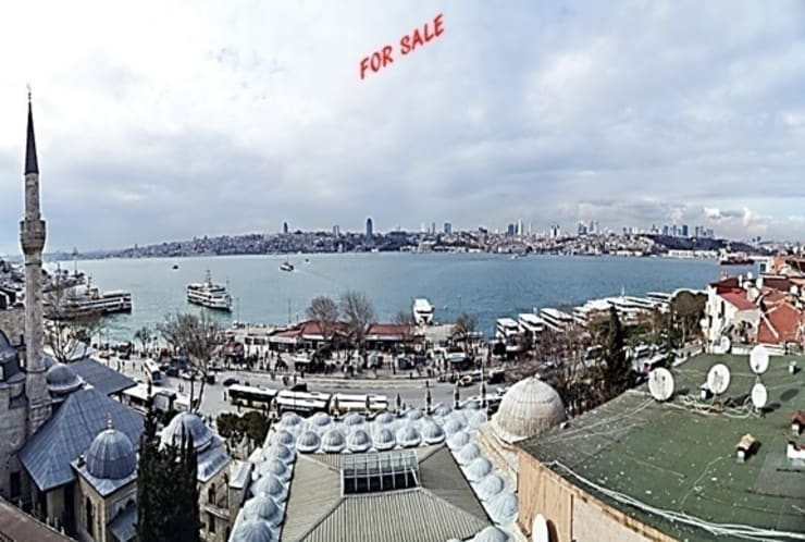 Smart Investment in Turkey / Türkiye'de  'Akıllı Yatırım' – APARTMENT FOR SALE WITH VIEWS OF THE BOSPHORUS in ÜSKÜDAR.:  tarz