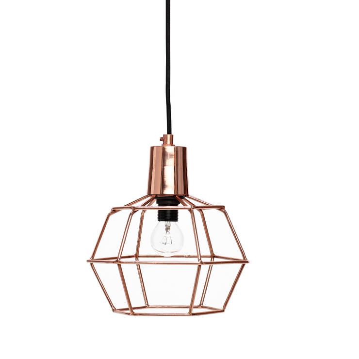 Pendelleuchte von Hübsch Interior: minimalistische Esszimmer von Stilherz