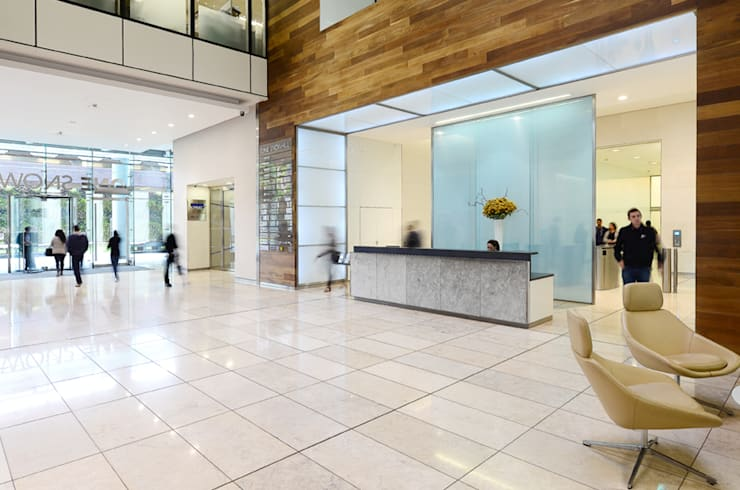 Office Interior:  Office buildings by Graham D Holland