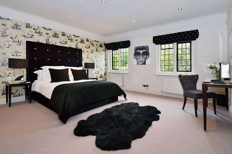 Projekty,  Sypialnia zaprojektowane przez Graham D Holland