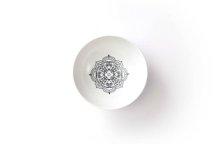 Porcelanowa miseczka Etno marki Zulana (śr.16 cm): styl , w kategorii Jadalnia zaprojektowany przez Zulana