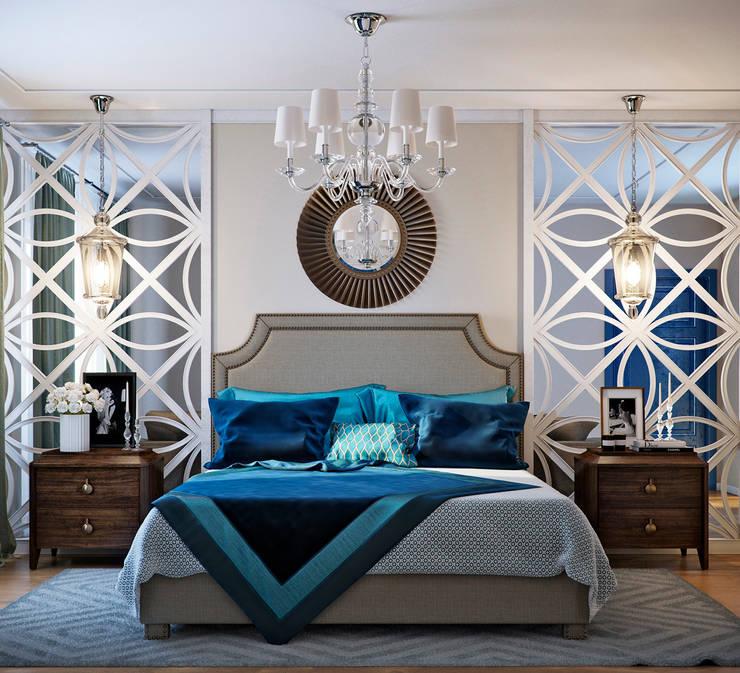 EJ Studio:  tarz Yatak Odası
