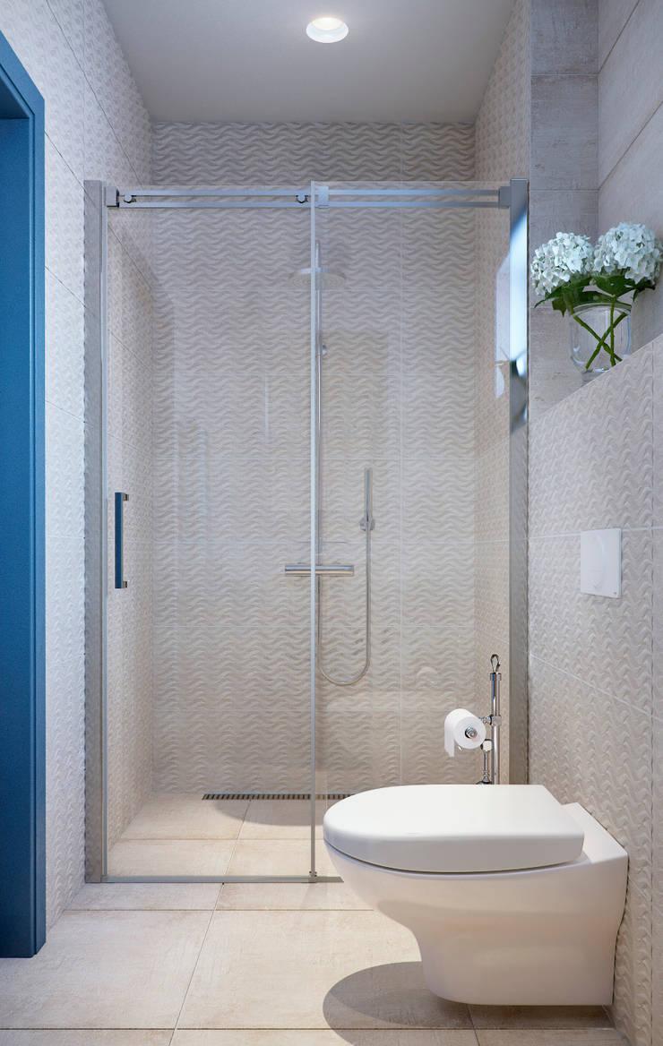 Ванная: Ванные комнаты в . Автор – EJ Studio