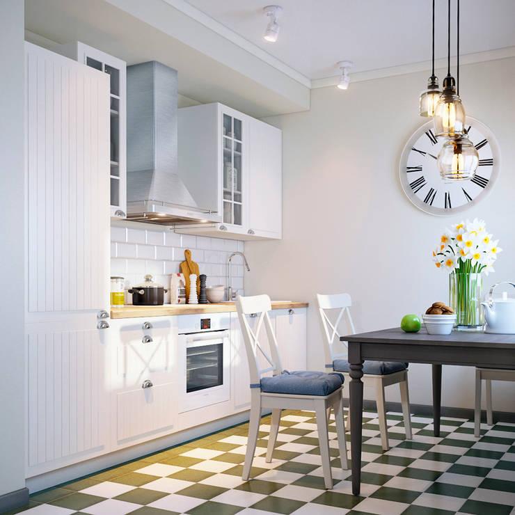 Projekty,  Kuchnia zaprojektowane przez EJ Studio