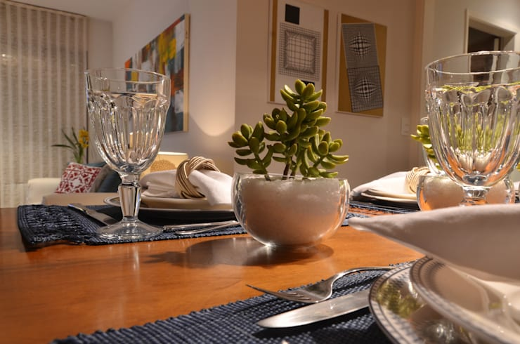 Apartamento Vila Olímpia /SP por Renata Romeiro Interiores Moderno