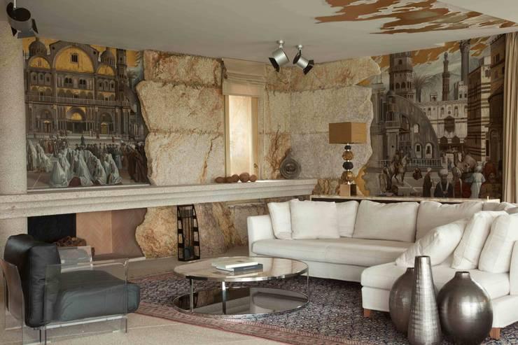 Фрагмент гостиной: Гостиная в . Автор – Галерея Фрейман