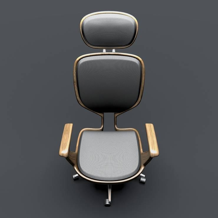 CVKDesign – Icona Armchair:  tarz Ofis Alanları & Mağazalar