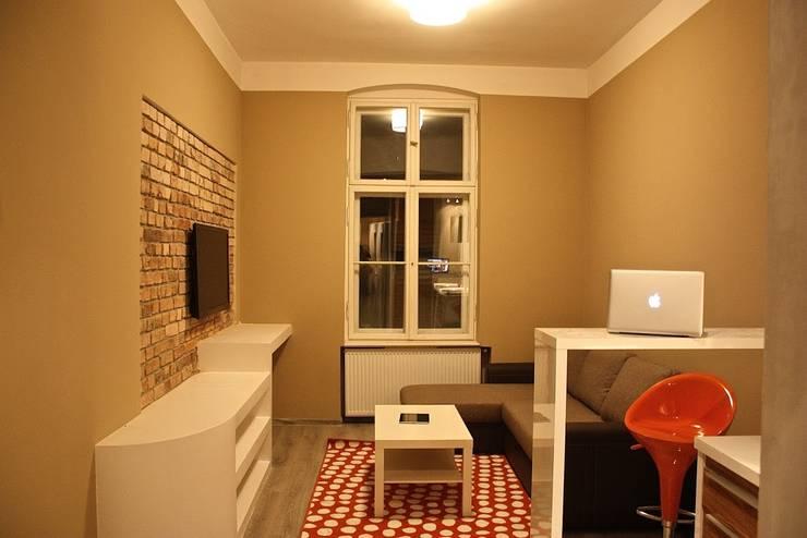 Modern Living Room by Remline Jakub Skowroński Modern