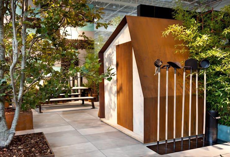 COTTAGE N°1 : Giardino in stile  di Filippo Pisan