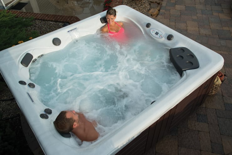 Piscinas de estilo  de Aqua-Whirlpools
