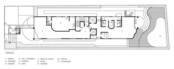 Conselheiro Brotero | edifício:   por ARQdonini Arquitetos Associados