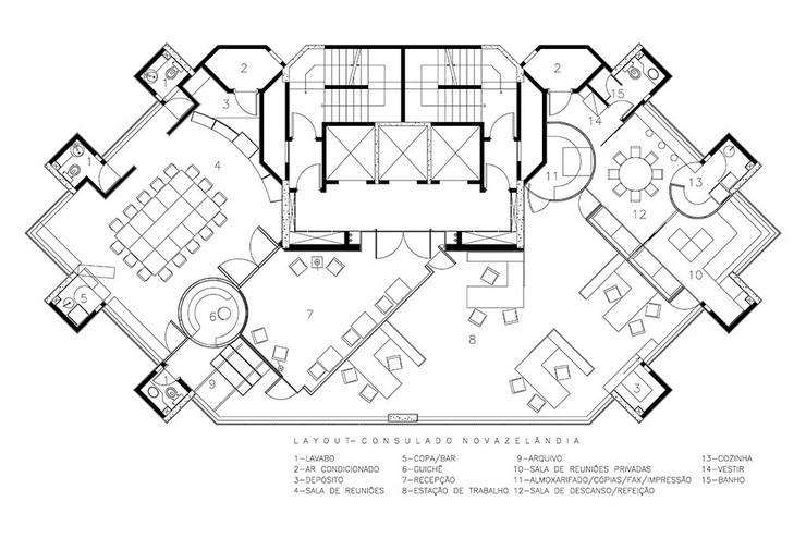 New Zealand Consulate:   por ARQdonini Arquitetos Associados