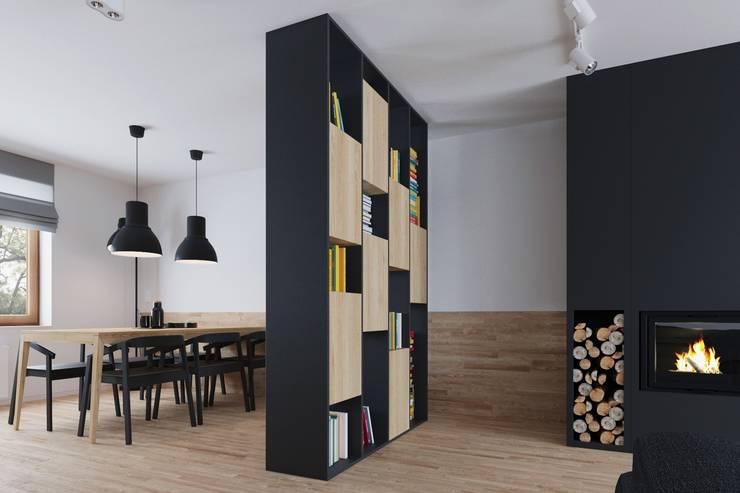Mieszkanie JM: styl , w kategorii Ściany zaprojektowany przez 081 architekci
