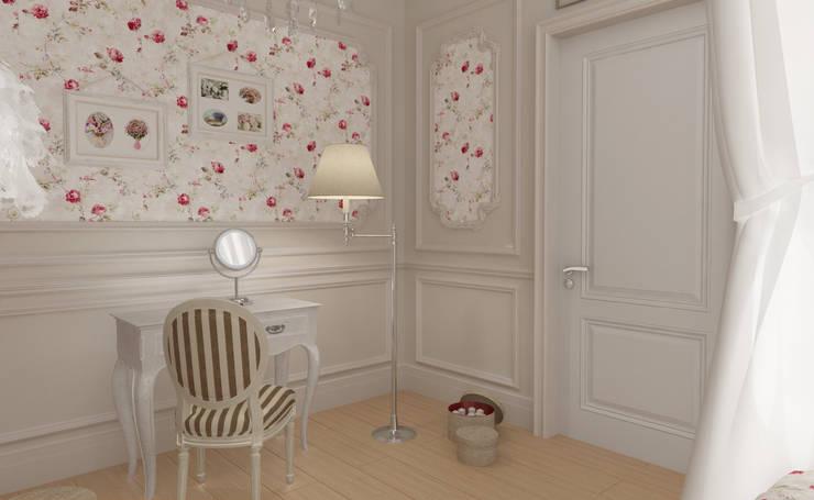 Квартира: Спальни в . Автор – СИРИУS Архитектурное бюро
