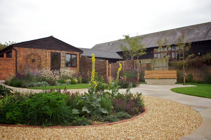 Barn Conversion Garden After 2:   by Sylvan Studio