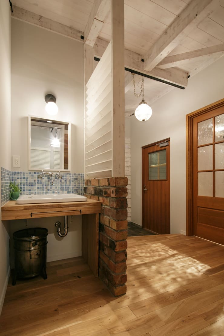 T's HOUSE: dwarfが手掛けた廊下 & 玄関です。