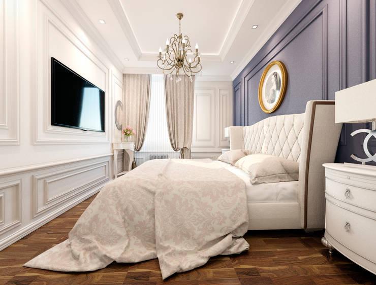 Квартира. Москва.: Спальни в . Автор – Elena Arsentyeva