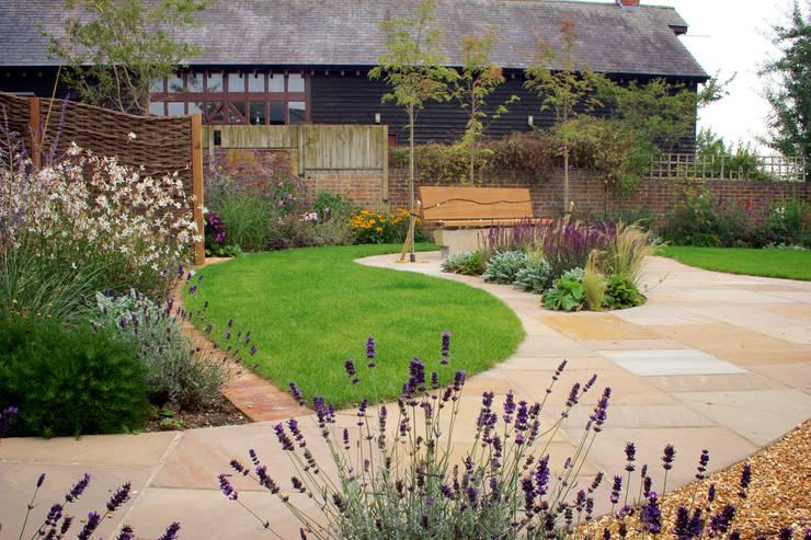 Barn Conversion Garden After 3:   by Sylvan Studio