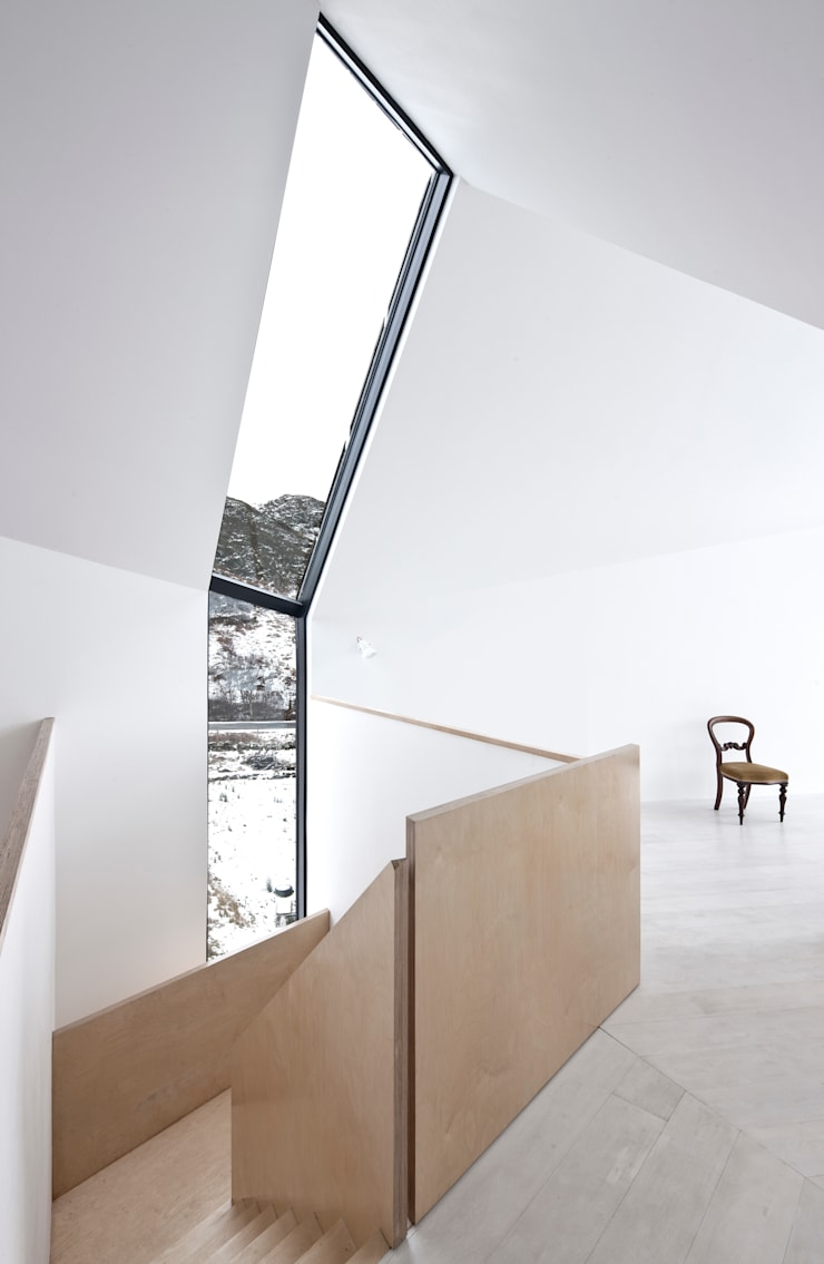 House At Camusdarach Sands Main Internal:  Walls by Raw Architecture Workshop