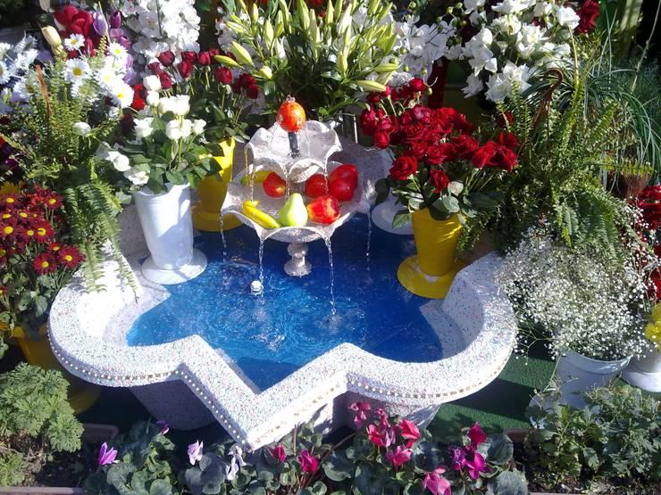 Jardín de estilo  por Cascade Süs Havuzu ve Fiberglas Ürünler