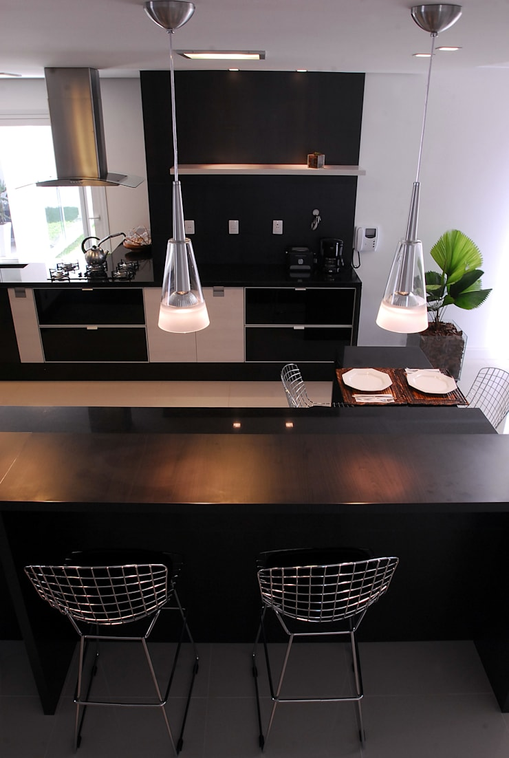 Cozinha: Cozinhas modernas por ARQUITETURA - Camila Fleck