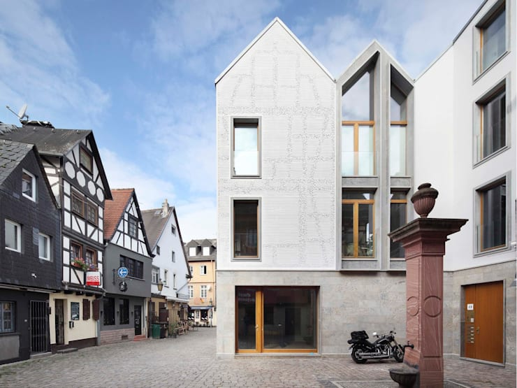 Kleine Rittergasse 11:  Häuser von FRANKEN\ARCHITEKTEN GMBH