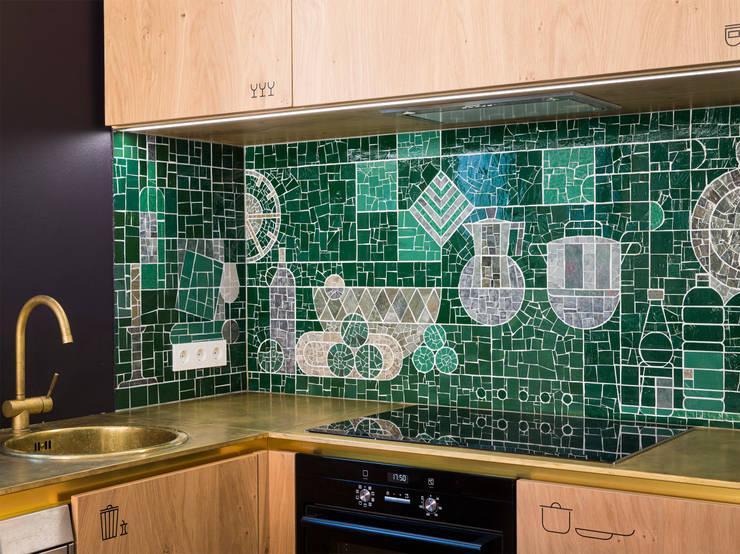 Kleine Rittergasse 11:  Küche von FRANKEN\ARCHITEKTEN GMBH