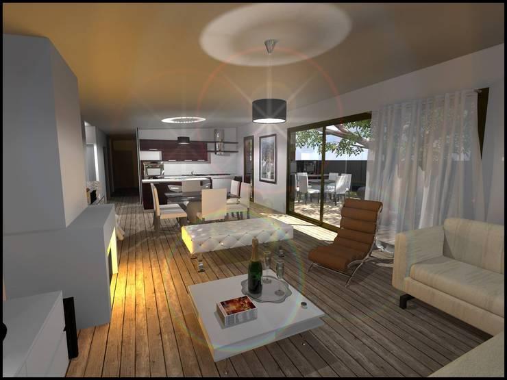 Construction d'une maison à Concarneau (29):  de style  par Atelier Florent Paris