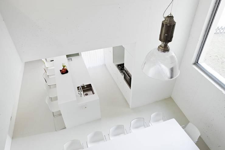 Küche Top 1, EG © Hertha Hurnaus: ausgefallene Küche von Superblock ZT Gmbh